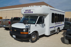 Wylie ISD Activity Bus