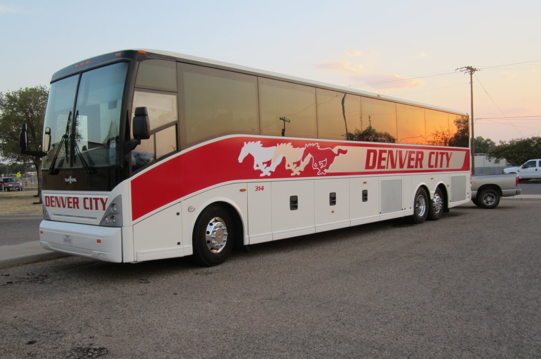 Denver City ISD Van Hool C2045
