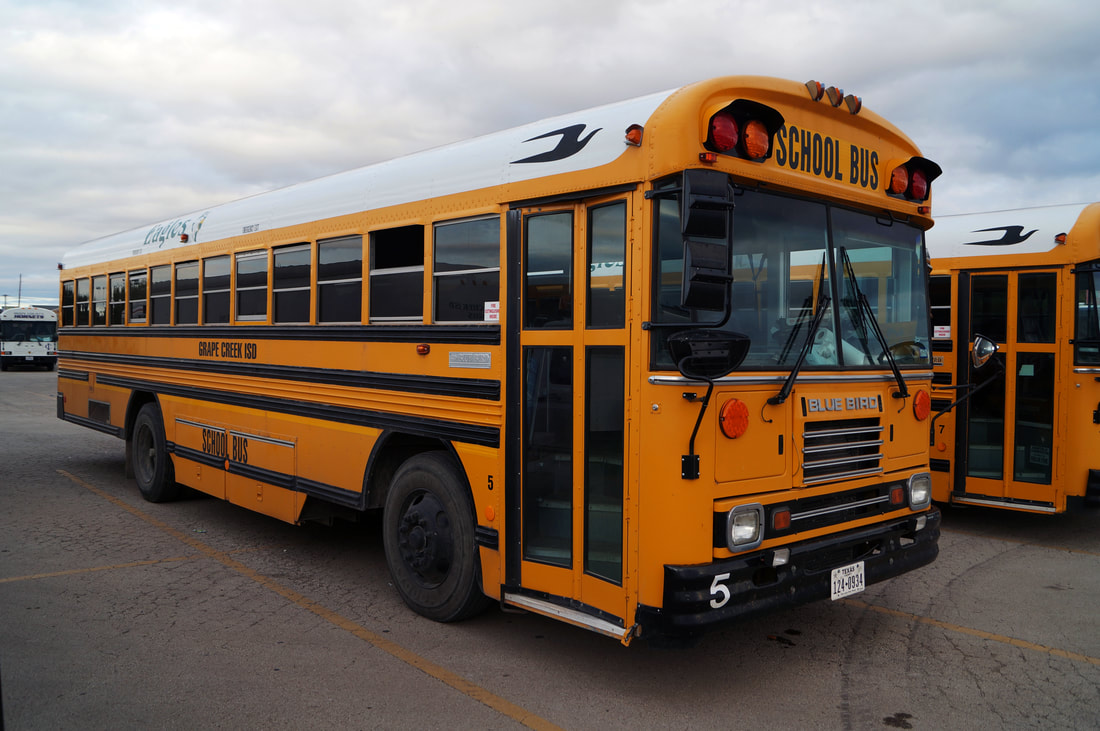 Grape Creek ISD Blue Bird TC2000 FE