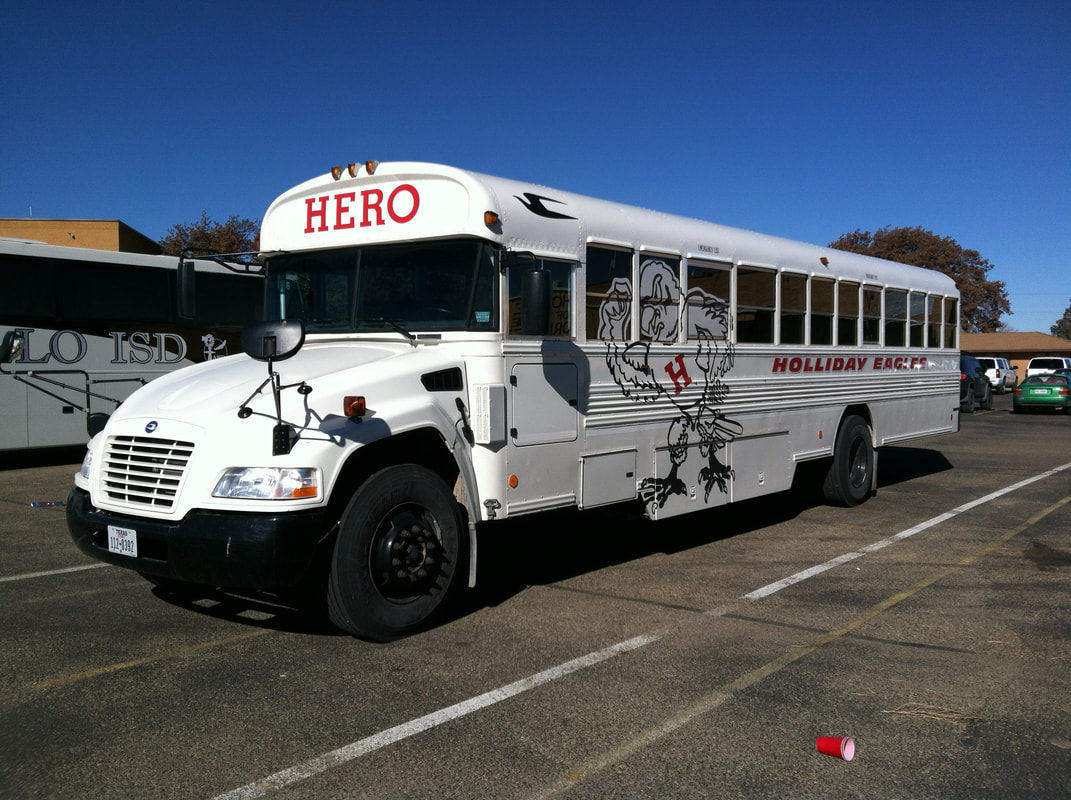 Holliday Eagles Activity Bus