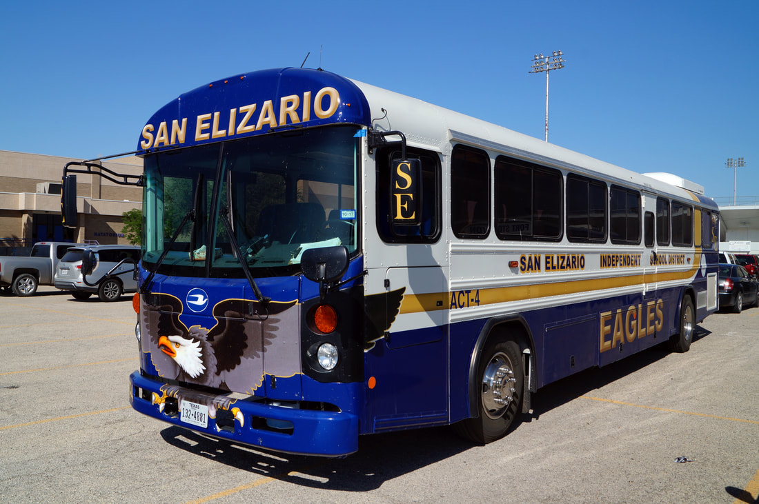 San Elizario ISD Blue Bird All American T3RE