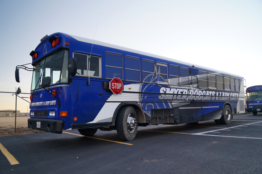 Smyer ISD Activity Bus