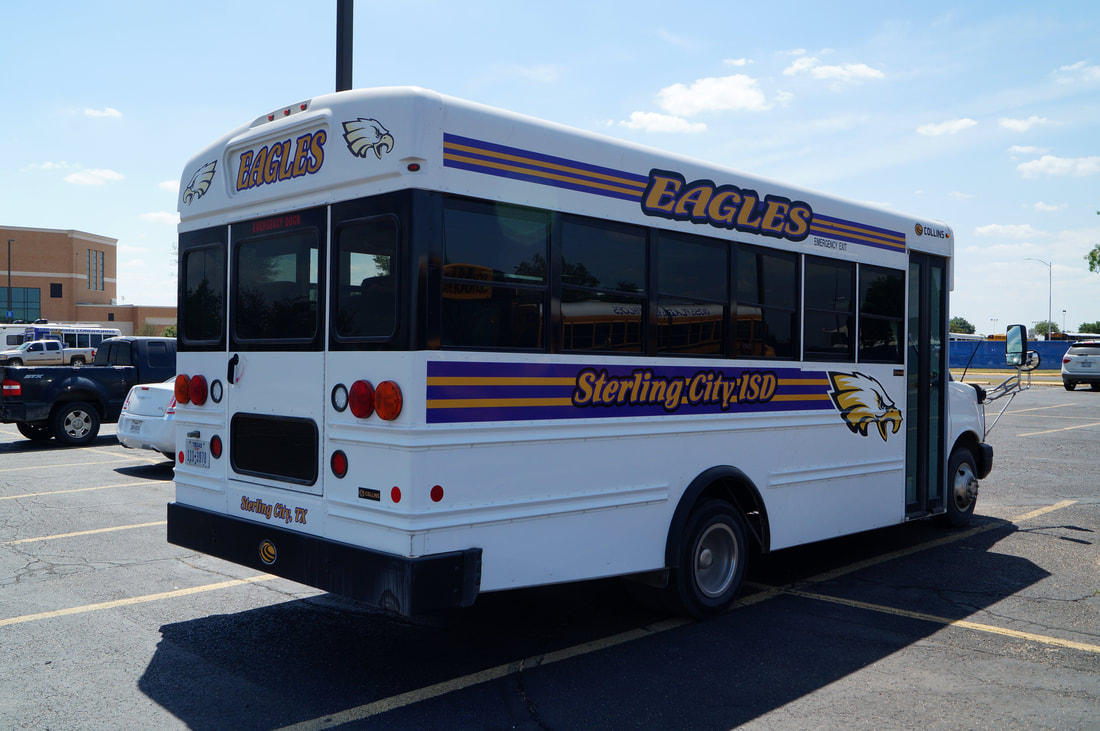 Sterling City ISD Collins Mini-Bus