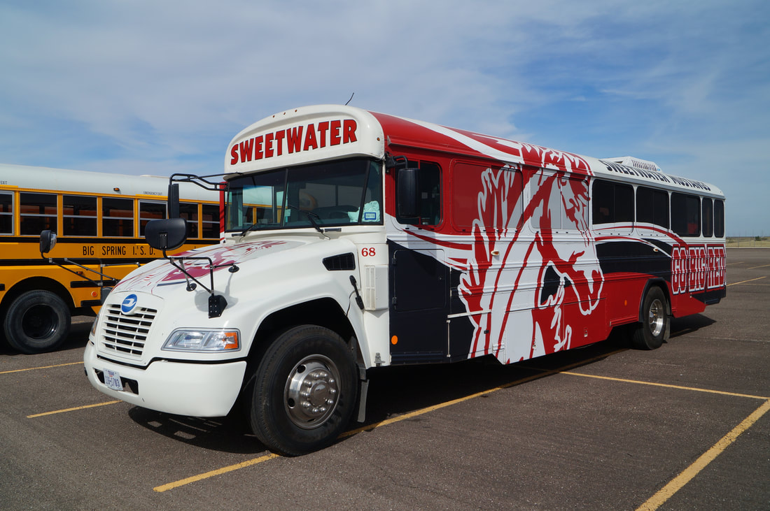 Sweetwater ISD Activity Bus